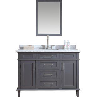 52 Inch Bathroom Vanity Joss Main 48 Inch Bathroom Vanity Bathroom Vanity Vanity
