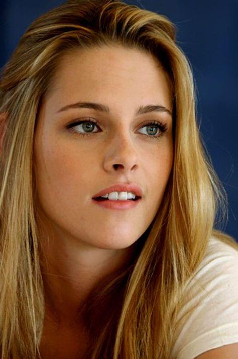Kristen Stewart a un visage angélique !