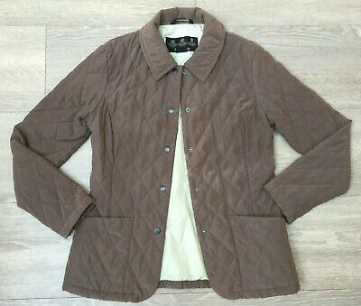 Ladies Genuine Brown Barbour Quilted Jacket Uk 8 Fashion Clothing Shoes Accessories Women Womensc In 2020 Barbour Quilted Jacket Quilted Jacket Clothes For Women