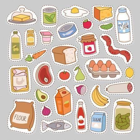 Alimentacion Saludable Lactancia En 2020 Iconos De Alimentos Alimentos Preescolar Dibujos De Comida Saludable