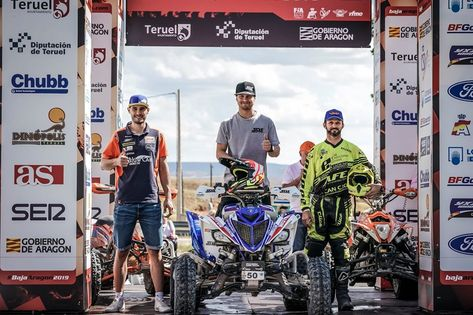 Baja Aragon 2019 Ganador Quads