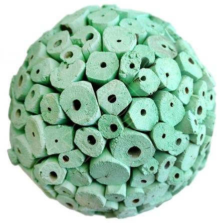 Green Decorative Balls Entrancing Tuscan Teal Large Decorative Ballsangel Aromatics  Available Review
