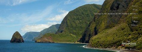 Kalaupapa, Molokai - our new #Facebook Cover Photo! #gohawaii #hawaii