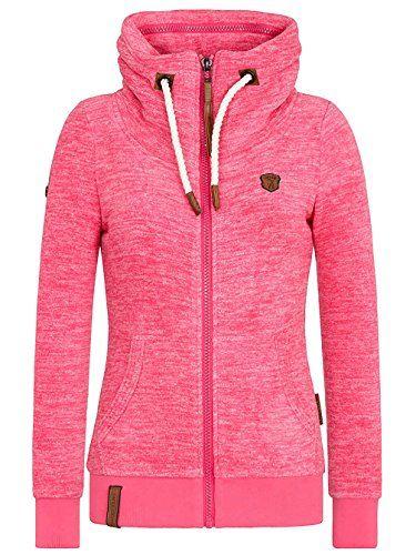 NAKETANO Gigi Meroni Pimped Fleece Sweater for Women Pink