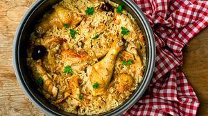 كبسة الدجاج اللذيذة Recipe Crockpot Recipes Easy Crockpot Recipes Healthy Healthy Crockpot Recipes