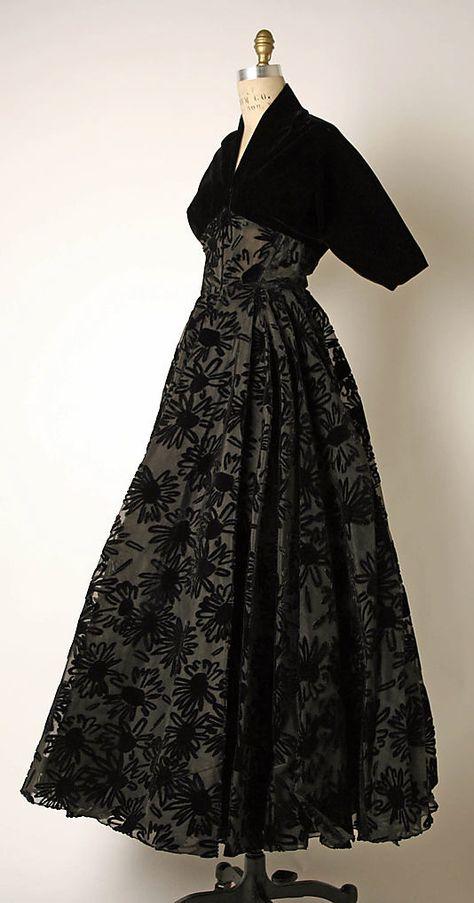 Evening dress - Madame Gres 1953