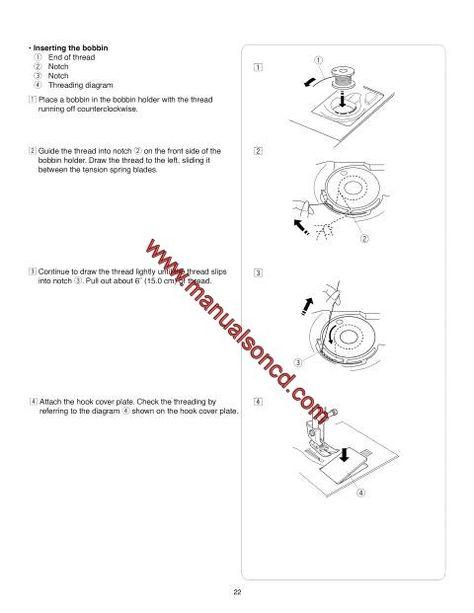 Kenmore 385.19112 Sewing Machine Instruction Manual