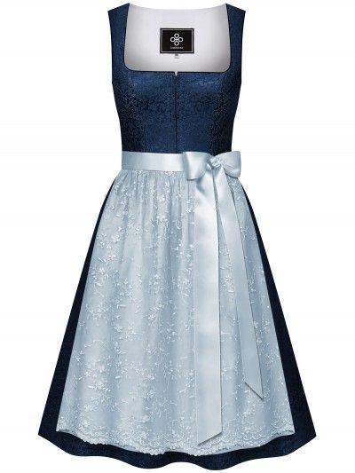 Alpenherz Hochzeits Dirndl In Blau Viktoria Hellblau Limberry De Dirndl Blaues Dirndl Alpenherz Dirndl