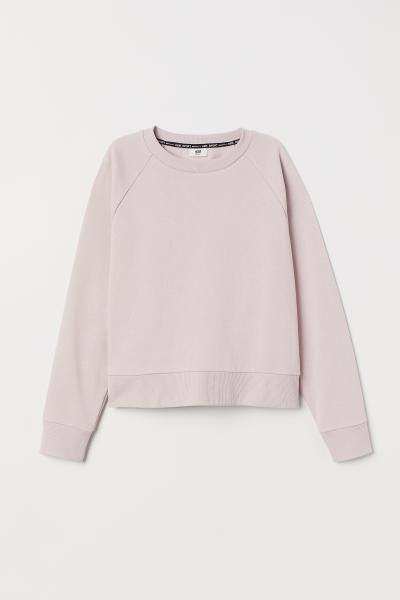 Sweater Relaxed Fit Roze HEREN   H&M NL