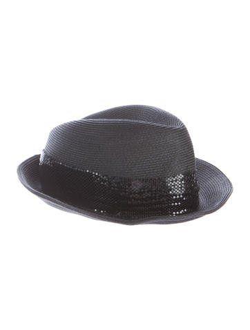 Blaine Peal Embellished Black Wool Felt Fedora Eugenia Kim 2FbMJisU3f