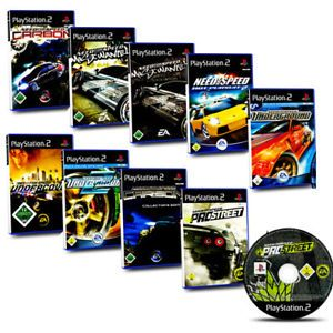 A Ps2 Juego Need For Speed Carbon Most Wanted Pro Street Undercover Underground 2 Video Juego Juegos Videos