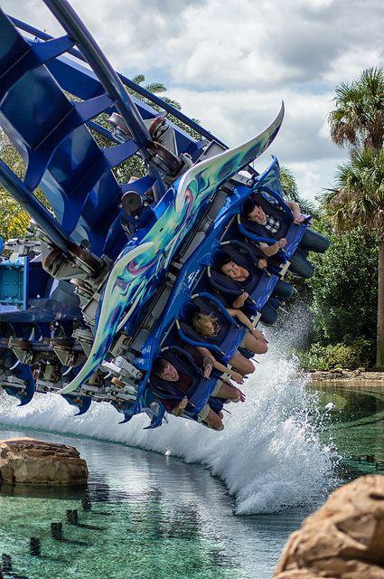 Manta Head On Sea World Theme Parks Rides Amusement Park Rides