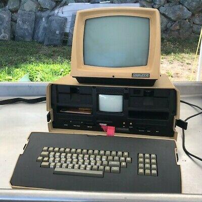 Osborne 1 Computer With External Monitor Computer External Osborne