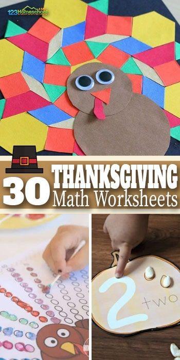 Thanksgiving Math Activities Worksheets Thanksgiving Math Thanksgiving Math Activities Math Activities