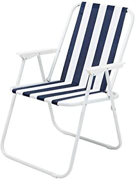 Zwjlizi Folding Lightweight Picnic Camping Chair Outdoor Fishing Chair Beach Chair Color Blue Fishing Chair Outdoor Chairs Beach Chairs
