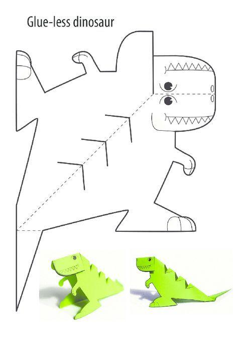 Dinazor Kalibi Dinosaur Activities Art For Kids Dinosaur Crafts