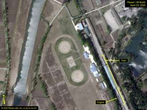 Kim Jong Uns Train Spotted In Resort Town Army Day Image Review Fly On The Wall