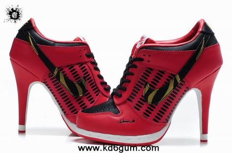 f7c16e5bbf6871 Buy Nike Dunk SB Low Heels Women Red Black Glod