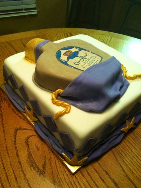 Crown Royal Cake June 2012 Royal Cakes Crown Royal Cake