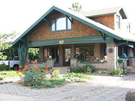 Craftsman Home In Phoenix Arizona This Is Another Style Of