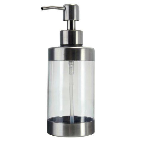 Bathroom Kitchen Liquid Soap Dispensers Plastic Bottle Sink
