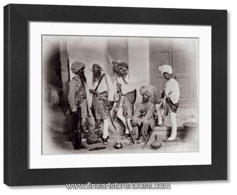 Print of Sikh Sappers
