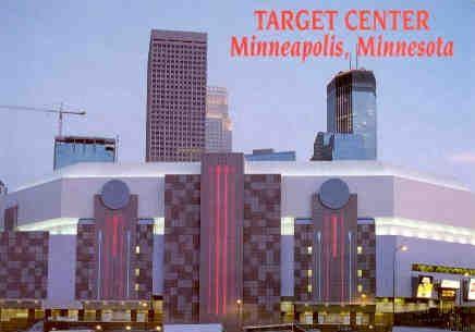 Target Center Minneapolis Minnesota Minnesota Target Center