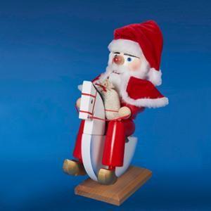 13 Authentic Steinbach Rocking Horse Santa Collectible Christmas Nutcracker Es1652 Walmart Com Nutcracker Christmas Rocking Horse Nutcracker