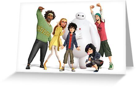 Big Hero 6 Greeting Card & Postcard by bubbly17