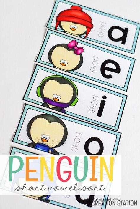 Penguin Center for Teaching Short Vowels