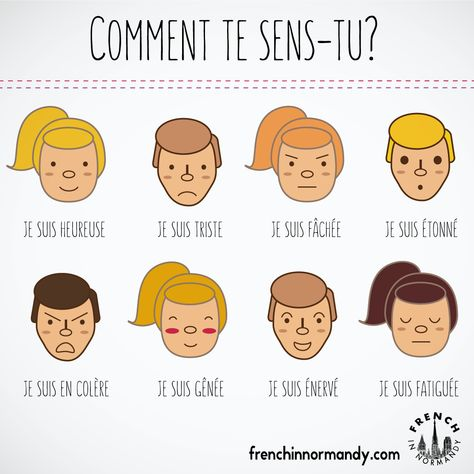 Today's lesson asks you how you feel, in French. Follow the blog and learn French with these short lessons. Comment te sens–tu; comment vous sentez-vous? How do you feel? Listen to the video below to understand the pronunciation of this question: comment te sens–tu? Simon #1- Comment te sens-tu ? from Quatre-vingts Poneys on Vimeo