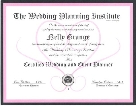 Read Nellyu0027s Full Bio on http\/\/wwwwedotahiti\/tahiti-wedding - event planning certificate