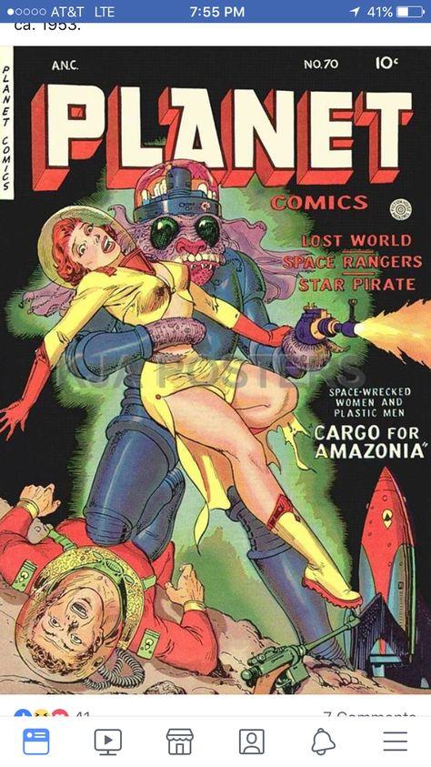 SciFi porno fumetti