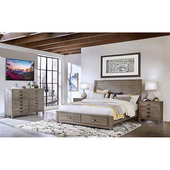 Dandridge 4 Piece King Storage Bedroom Set Bedroom Set Bedroom