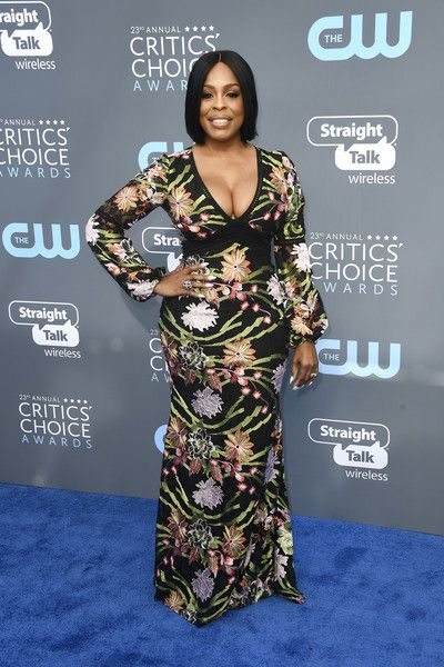 Actor Niecy Nash attends the 23rd Annual Critics' Choice Awards.
