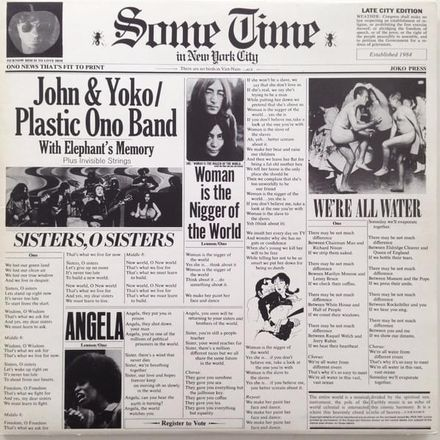 Angela By John Lennon Featuring Yoko Ono Produced By Phil Spector