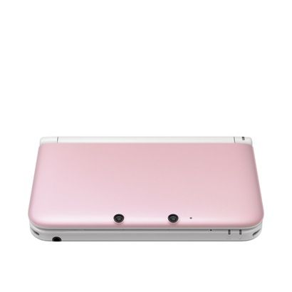 Nintendo 3DS XL - Wanted white, but settled on pink. At least it's white on the inside :)