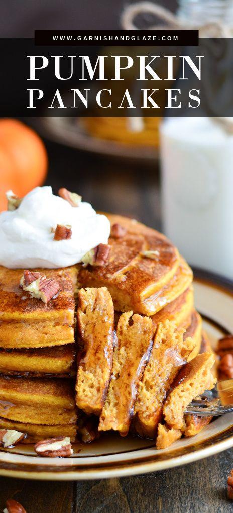 Whole Wheat Buttermilk Pumpkin Pancakes Recipe In 2020 Best Breakfast Recipes Pumpkin Pancakes Pumpkin Recipes
