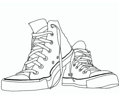 Converse template I was first in my world to have red high tops as ...