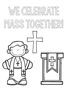 Catholic Schools Week Coloring Pages By Countless Smart Cookies Teachers Pay Teachers Catholic Schools Week School Week Catholic School