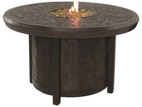 Castelle Classical Cast Aluminum 40 Round Firepit With Lid In 2020 Fire Pit Fire Pit Table Fire Pit Table Top