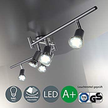 10 Meter PU Spots Kasten LED Leuchten Stuck Deckenprofil sto/ßfest 80x200 LED-11