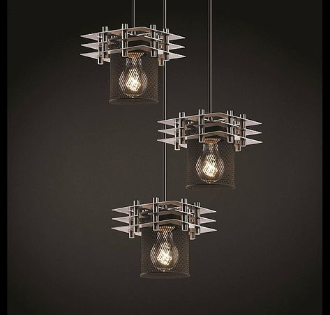 Justice Design Metropolis 3 Light Cer Pendant In Brushed