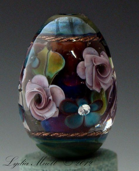 Fine Lampwork by Lydia Muell, Gallery of Lampwork Focal Beads