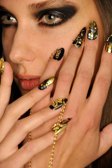 Gorgeous nail looks from Libertine Fall 2015.