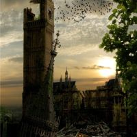 Post-apocalyptic London, very inspiring for an apocalypse novel