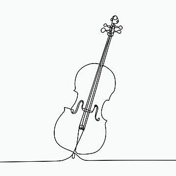 رسم خط واحد من التشيلو صك الموسيقى الكلاسيكية المثال التوضيحي رسم رسم Png والمتجهات للتحميل مجانا Music Drawings Single Line Drawing Classical Music Poster