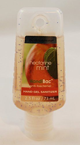 Bath And Body Works Nectarine Mint Pocketbac Hand Sanitizer