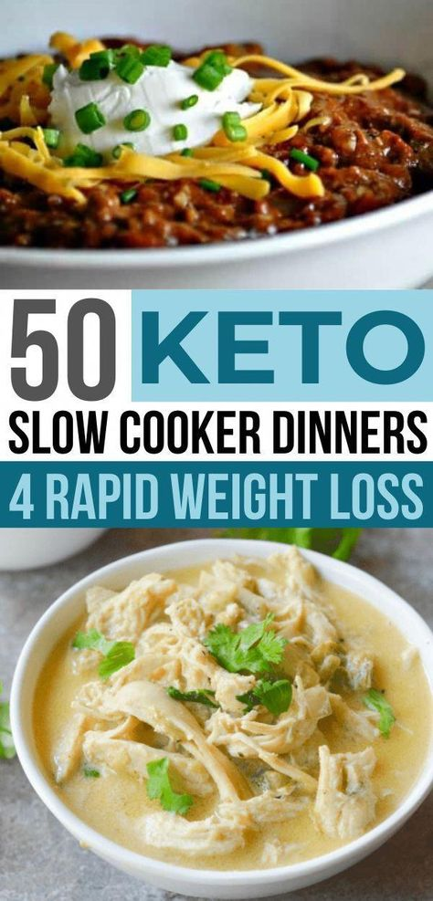 These keto slow cooker dinners are the BEST! Now I have so many easy low carb crockpot dinner ideas for my ketogenic diet!!  Many healthy slow cooker soup recipes too!! #ketorecipes #lowcarbrecipes #keto #slowcookerrecipes #crockpotrecipes #dinnerrecipes #healthyrecipes #recipes #healthymeals