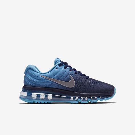 d6d3f91f315 Collection Femme Chaussures - Nike Air Max 2017 Binary Bleu Chlorine Bleu  851622 - 401